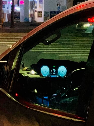 Hyundai Staria's full LCD cluster
