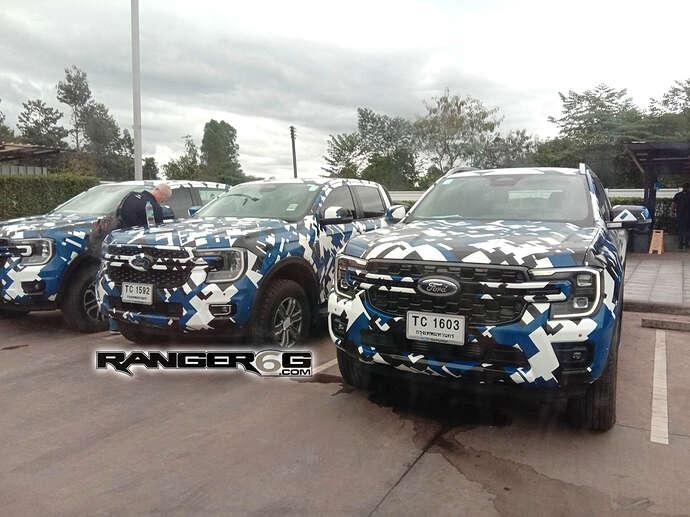 2023 Ford Ranger XLT, FX4, Wildtrak