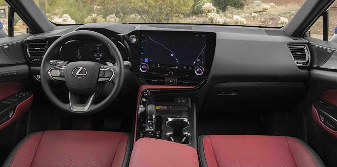 2022_Lexus_NX-350h_Luxury_Interior_072